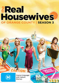 The Real Housewives Of Orange County: Season Three on DVD