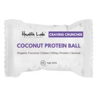 Health Lab Craving Cruncher Coconut Protein Ball (40g)