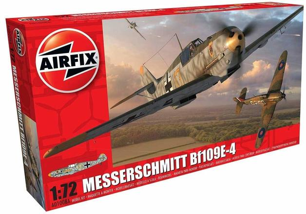 Airfix Messerschmitt Bf109E-4 1:72 - Model Kit