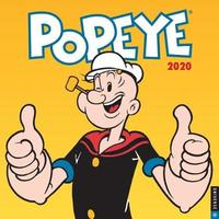 Popeye 2020 Square Wall Calendar by King Features a Unit of Hearst