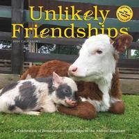 Unlikely Friendships Wall Calendar 2020 by Workman Publishing