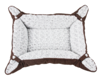 Pawise: Pet Deluxe Bed Curly Brown