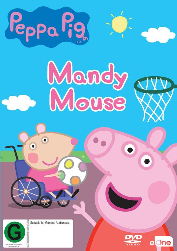 Peppa Pig: Mandy Mouse on DVD