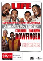 Life / Bowfinger - 2 DVD Movie Pack (2 Disc Set) on DVD
