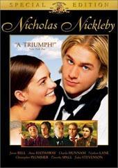 Nicholas Nickleby on DVD