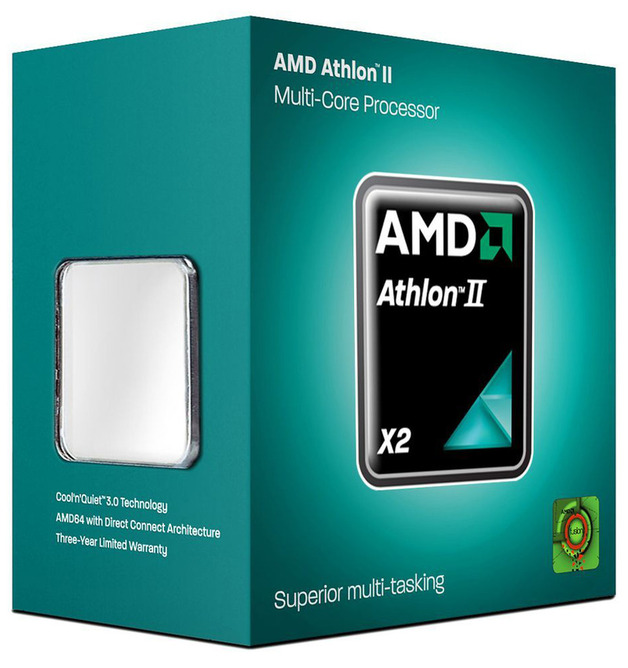 AMD Athlon II X2 270 Dual Core 3.4GHz AM3 Processor
