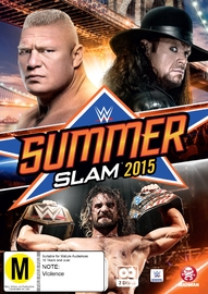 WWE - Summerslam 2015 on DVD