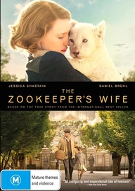 The Zookeepers Wife on DVD