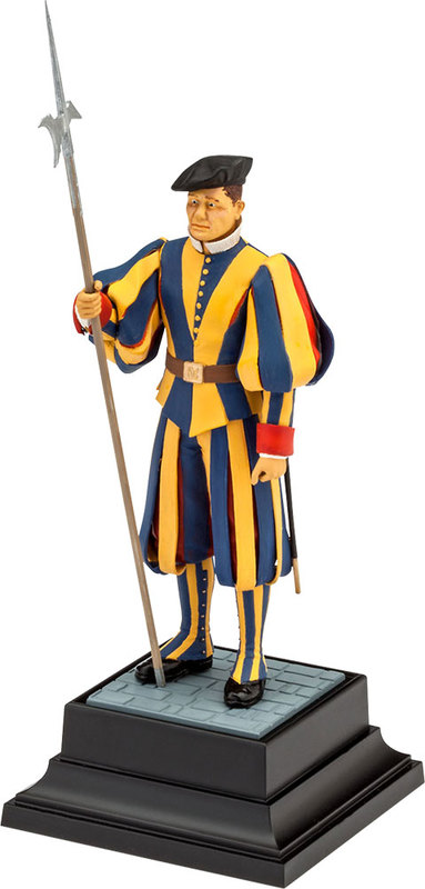 "Revell 1/16 History ""Swiss Guard"" Scale Model Kit"