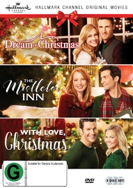 Hallmark Christmas Collection Three: The Mistletoe Inn/a Dream Of Christmas/with Love Christmas on DVD