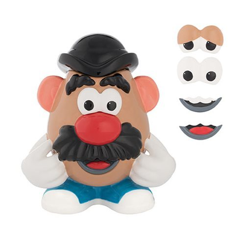 Mr. Potato Head Limited Edition Sculpted Ceramic Cookie Jar