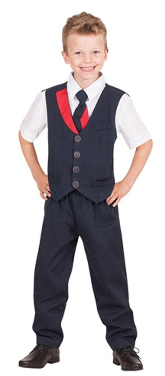 Qantas Cabin Crew Suit - Children's Costume (Ages 6-8) image