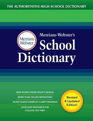 Merriam Webster S School Dictionary Merriam Webster Book
