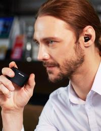 Bluedio T-Elf True Wireless Earbuds Headphones - Black image