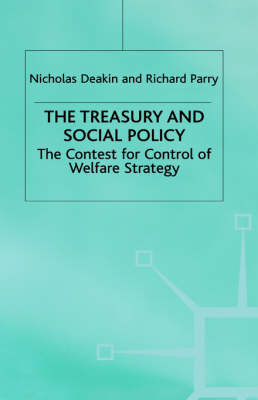 The Treasury and Social Policy by Nicholas Deakin image