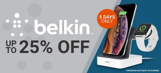 Belkin SALE! - Up to 25% Off