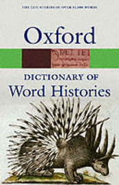 The Oxford Dictionary of Word Histories image