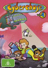 Cyberchase Vol 4 on DVD