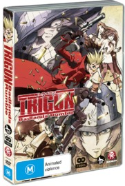 Trigun - Badlands Rumble on DVD
