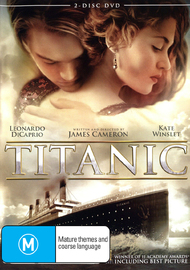 Titanic on DVD image
