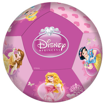 Disney Princess: Soft Sewn Ball - 100mm