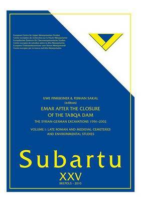 Emar After the Closure of the Tabqa Dam: The Syrian--German Excacations 1996-2002: Volume 1: Late Roman and Medieval Cemeteries and Environmental Studies image
