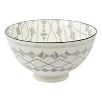 Etta Black and White Iberia Small Bowl (11cm)