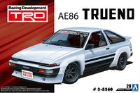 Aoshima: 1/24 Toyota TRD AE86 Trueno (N2 '85) - Model Kit