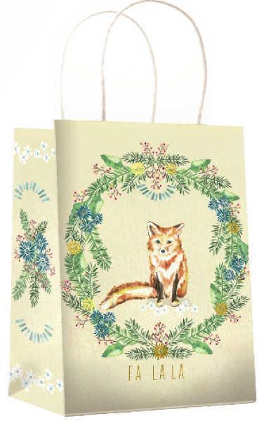 Papaya:Christmas Gift Bag - Fa La La