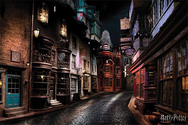 Harry Potter Maxi Poster - Diagon Ally (884)