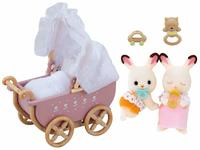 Sylvanian Families: Chocolate Rabbit Twin