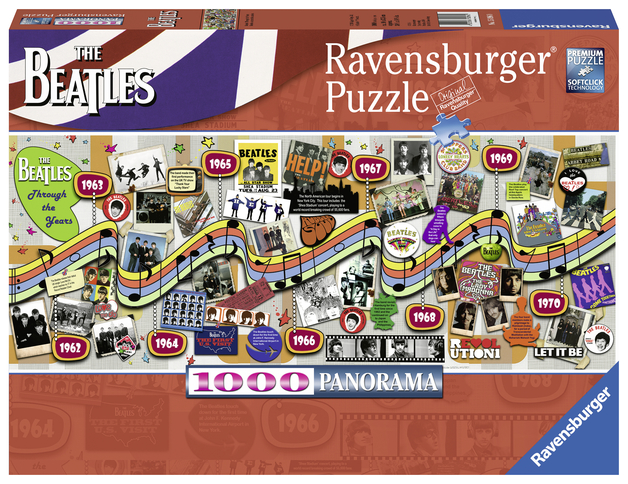 Ravensburger: 1,000 Piece Puzzle - Beatles Through the Years