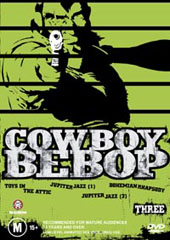 Cowboy Bebop - 3 on DVD