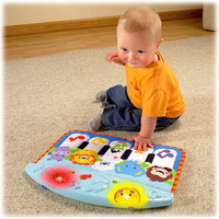 Fisher Price Kick & Play Piano (Cot & Floor)