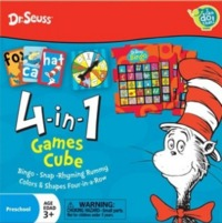 Dr Seuss - 4-in-1 Games Cube