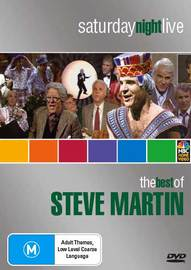 Saturday Night Live: The Best Of Steve Martin on DVD