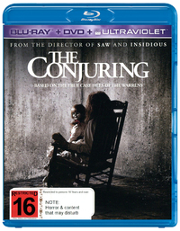 The Conjuring on DVD, Blu-ray, UV