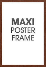 Maxi Poster Frame - Walnut