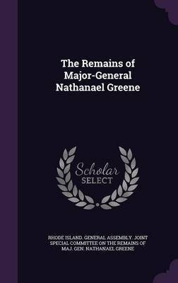 The Remains of Major-General Nathanael Greene image