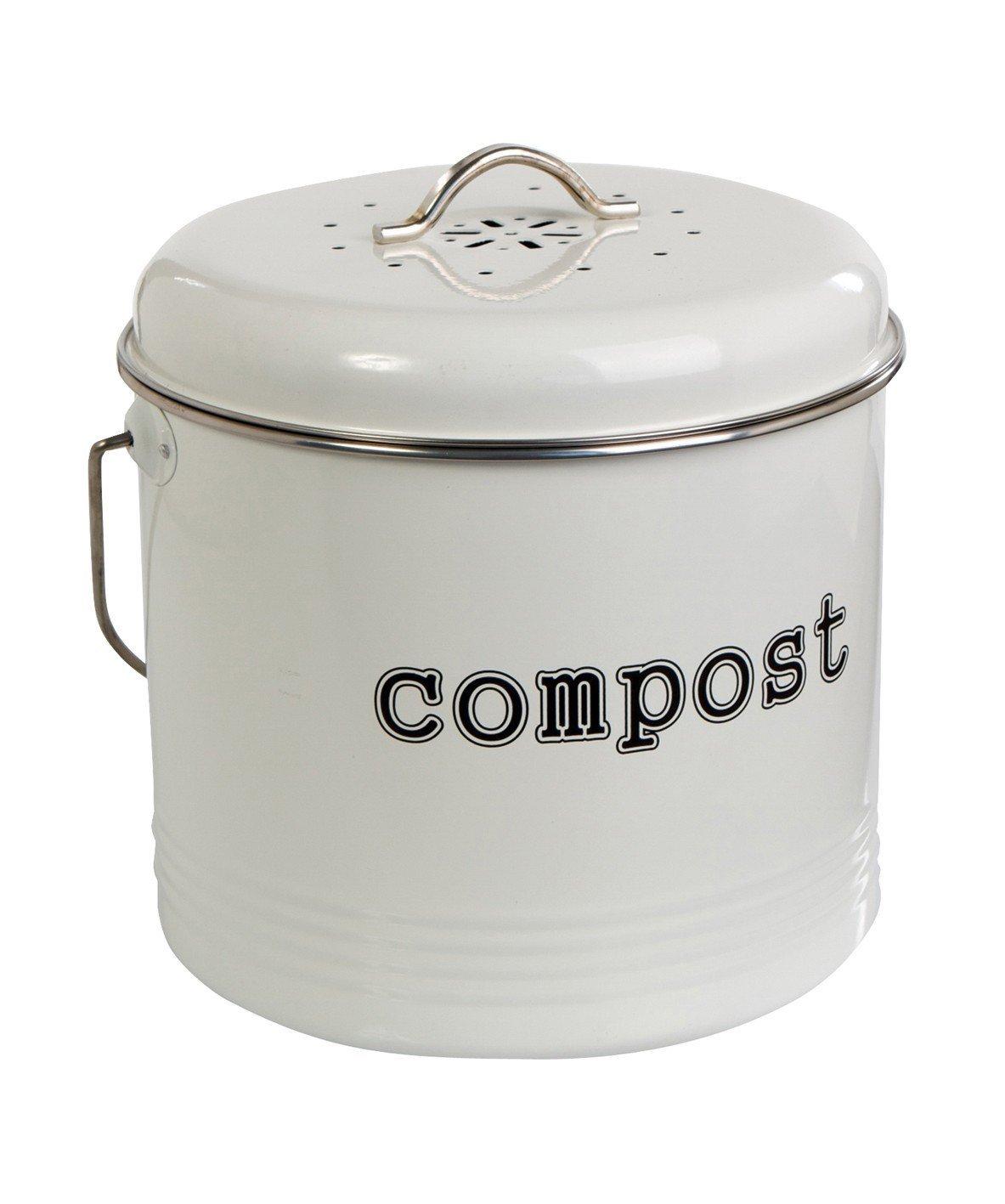 Compost Bin White At Mighty Ape Australia
