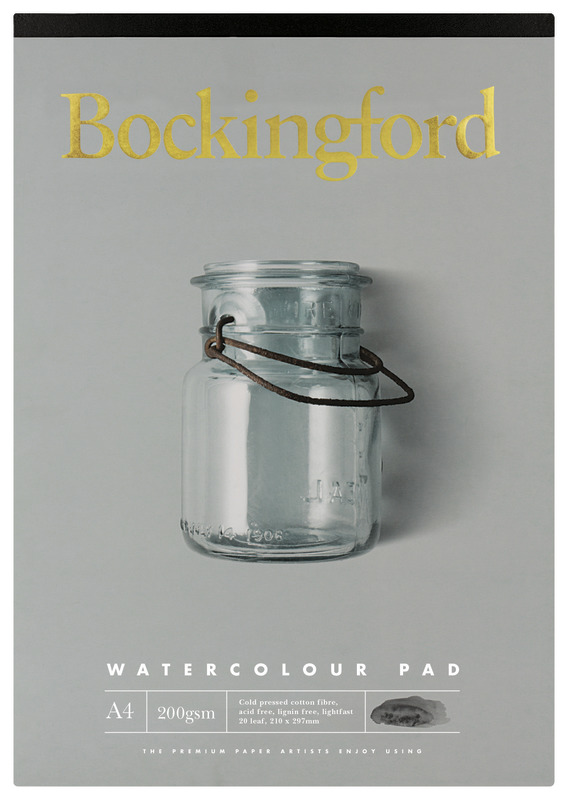 Bockingford: A4 200GSM Watercolour Pad - 20 Leaf