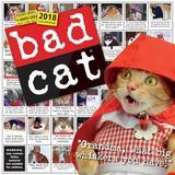 Bad Cat 2018 Wall Calendar by Workman Publishing