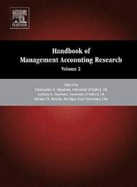 Handbook of Management Accounting Research: Volume 2 image