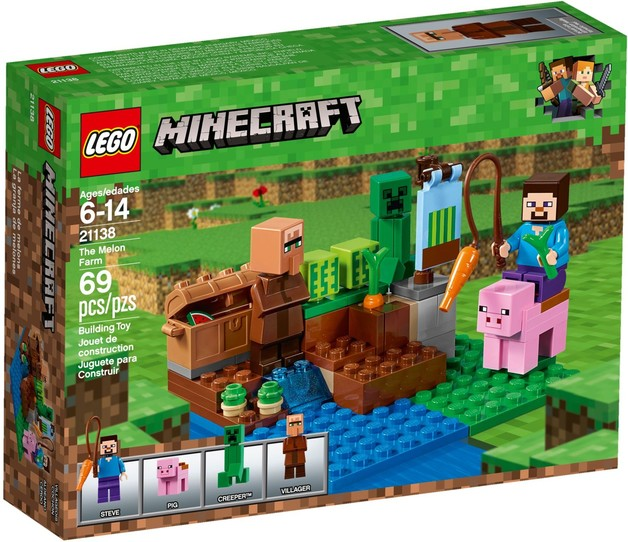 LEGO Minecraft: The Melon Farm (21138)