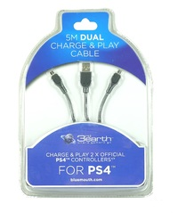 PS4 Dual Play and Charge Cable 5m for PS4