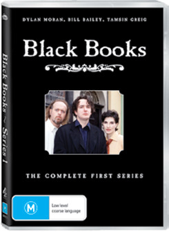 Black Books - Series 1 (Repackaged) on DVD image