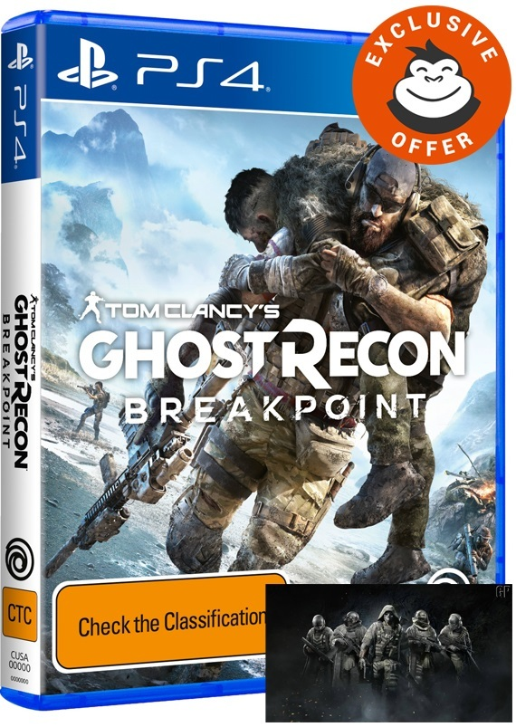 Tom Clancy's Ghost Recon Breakpoint for PS4 image
