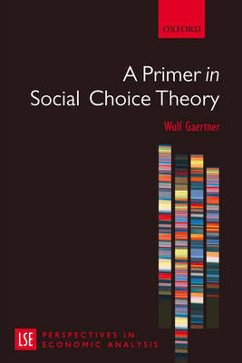 A Primer in Social Choice Theory by Wulf Gaertner image