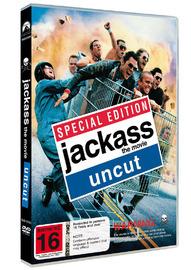 Jackass The Movie - Uncut on DVD