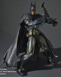 Batman Arkham Asylum Play Arts Action Figure - Batman